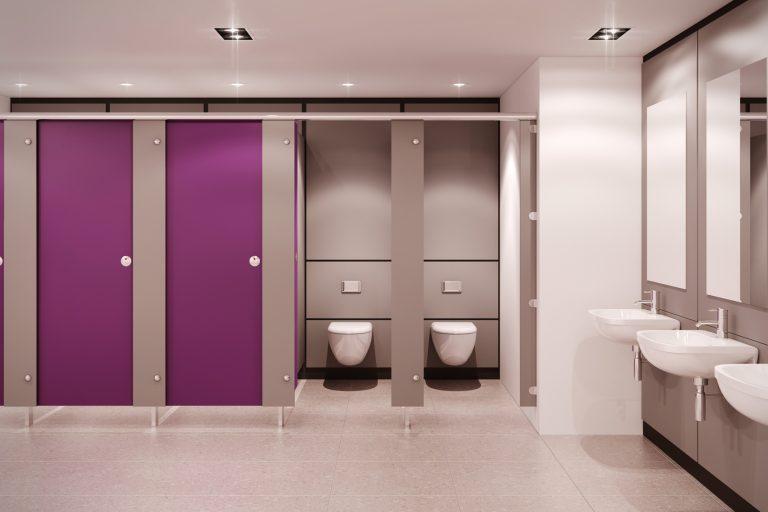 Туалетные перегородки – все должно быть комфортным
