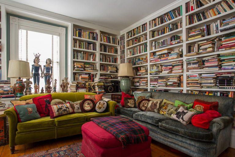 Интерьер для любителей книг